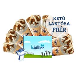 Toffee ístoppur, án viðbætts sykurs og laktósafrír